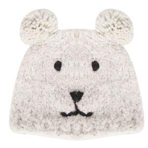 Accessories - Wool Teddy Bear Beanie - Adult Sized